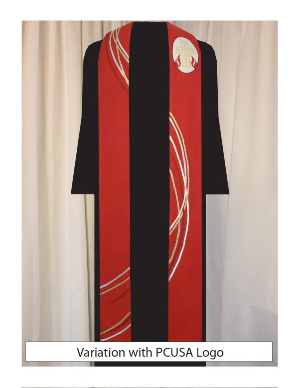 The PCUSA logo has been added to our Ribbon and Dove Stole